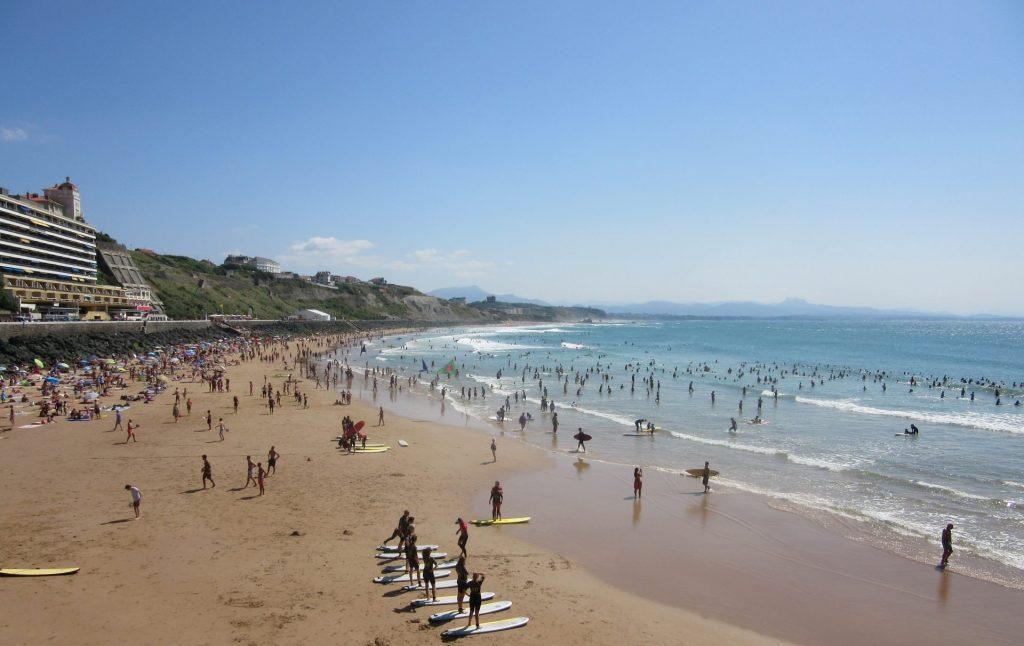 playa-Biarritz