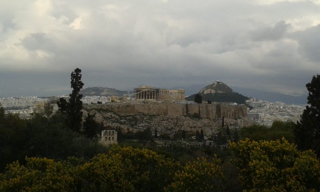 Acropolis-desde-colina-ninfas-atenas