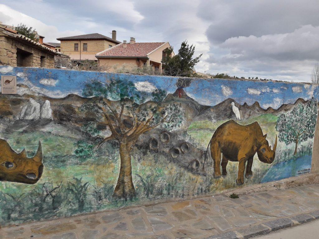 loarre-mural