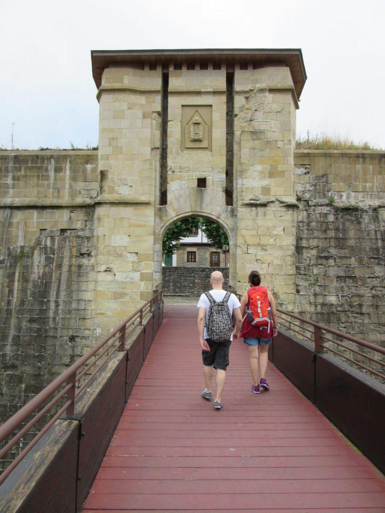 Puerta San Nicolás fuenterrabia hondarribia
