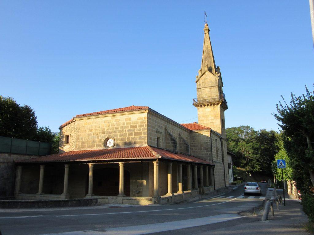 Santuario de Guadalupe fuenterrabia