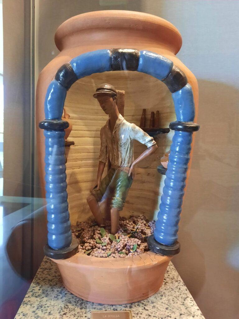 ceramica trabajada restos museo batalla bailen